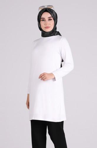 Tunique Blanc 4485-02