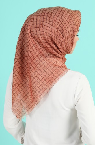 Light Tobacco Brown Scarf 2963-14