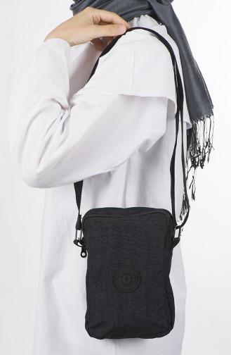 حقيبة كتف أسود 38-01