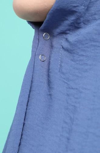 Châle Bleu Jean 1141-06