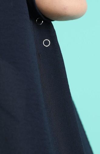 شال أزرق كحلي 1141-19