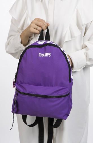 حقيبة ظهر أرجواني 27-06