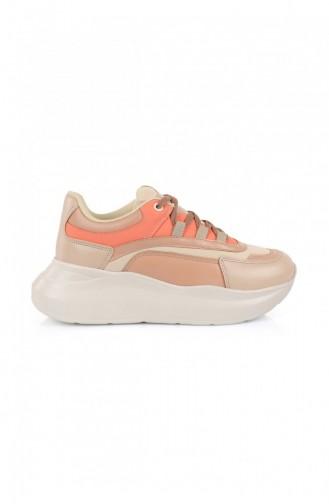 Maroon Sneakers 1087.NUDE