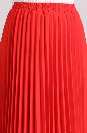 تنورة أحمر 3323ETK-02