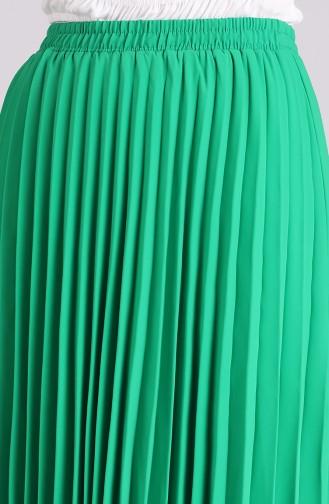 تنورة اخضر فاتح 3323ETK-06