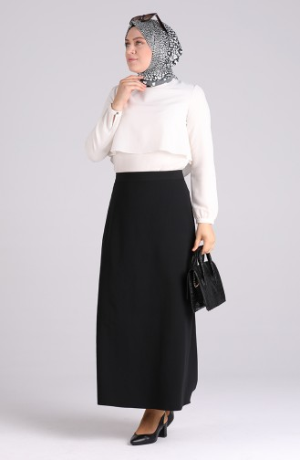Jupe Noir 2223-01