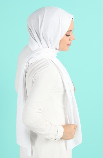 Châle Blanc Cassé 4745-01