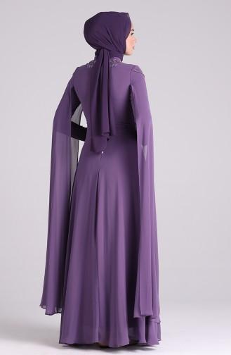 Habillé Hijab Lila 4714-04