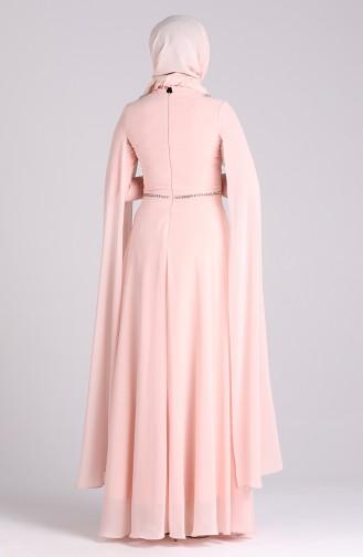 Habillé Hijab Saumon 4715-05