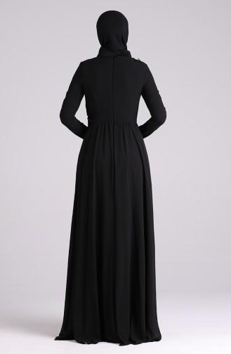 Habillé Hijab Noir 0083-03