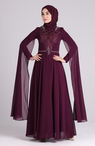 Habillé Hijab Pourpre 4715-02