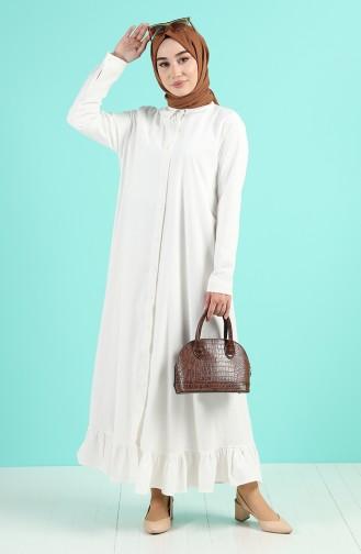 فستان بيج فاتح 4858-01
