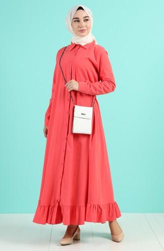 Robe Hijab Corail 4858-02