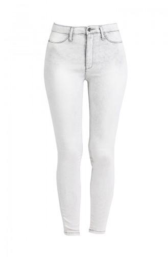 Pantalon Gris clair 3131-01