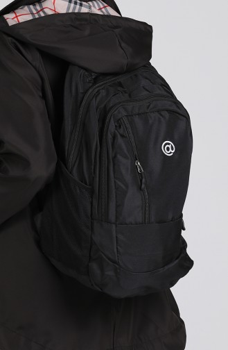 Black Back Pack 10701SI