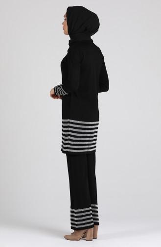 Schwarz Anzüge 0383-09