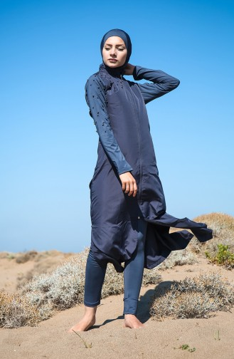 Anthracite Swimsuit Hijab 2028-01
