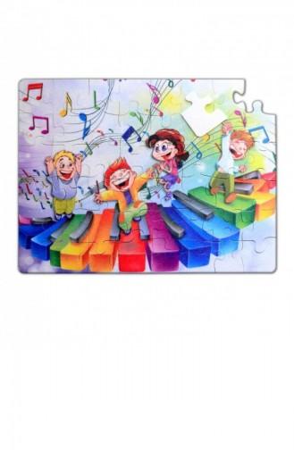 Tox Orman 5 Keçe Yapboz 5 Yaş Puzzle T010500015