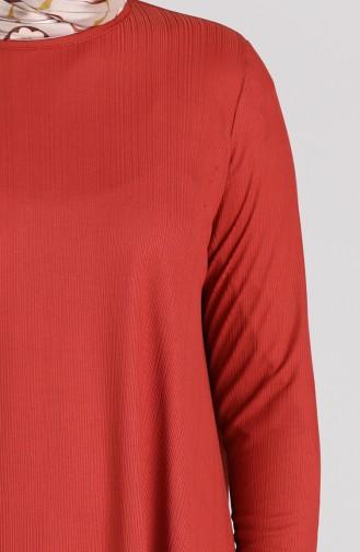 Asymmetric Tunic Trousers Double Suit 4618-04 Tile 4618-04
