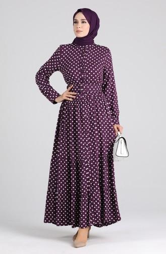 فستان أرجواني 4553-05