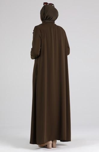 Abayas Khaki 5944-03
