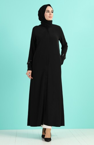 Black Abaya 0451-02