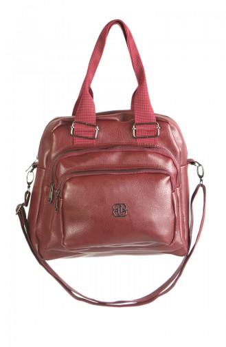 Claret red Shoulder Bag 3024-03