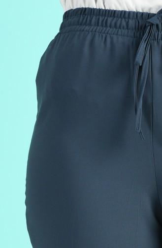 Pantalon Bleu Pétrole 4263PNT-01