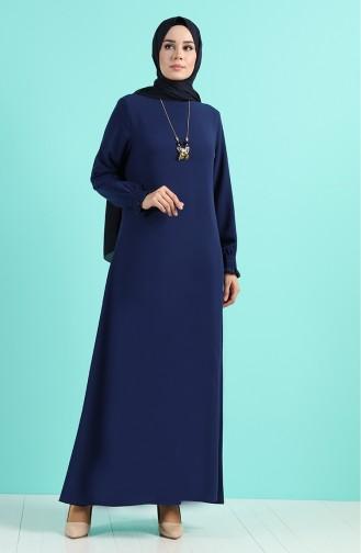Parlament-Blau Hijap Kleider 1003-02