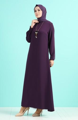 Necklace Dress 1003-05 Purple 1003-05