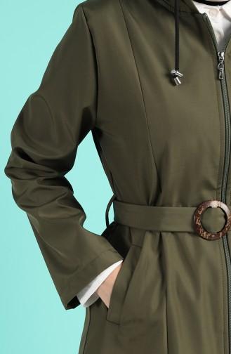 Khaki Trench Coats Models 0501-04