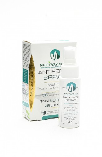 Multiway Clean Antiseptıc Spray 50 ml 9002-01