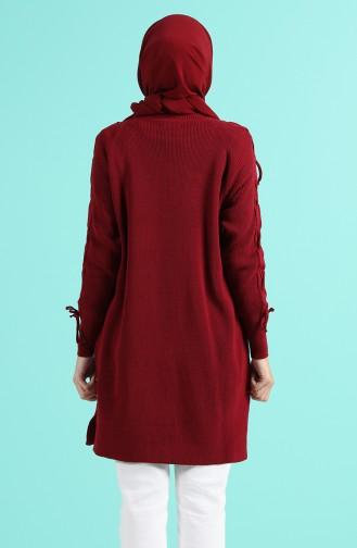 Weinrot Pullover 55207-02