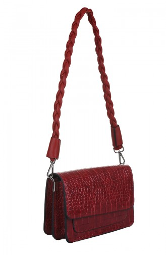 Red Shoulder Bag 415-055