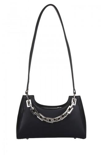 Black Shoulder Bag 418-001
