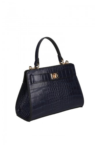 حقيبة كتف أزرق كحلي 420-011