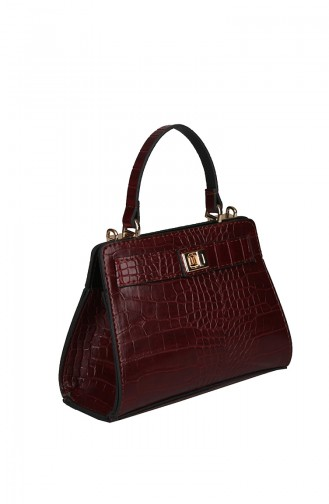 حقيبة كتف أحمر كلاريت 420-031