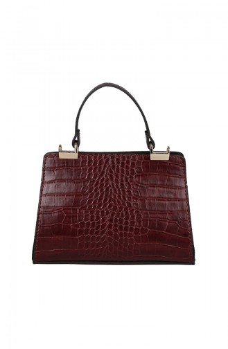 Claret red Shoulder Bag 420-031