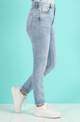 Cepli Kot Pantolon 1011-01 Buz Mavisi