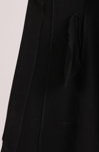 Caban a Fourrure 61298-01 Noir 61298-01