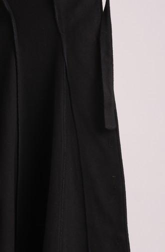 Black Long Coat 71186-01