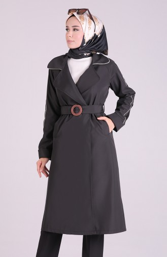 Black Trench Coats Models 5169-02