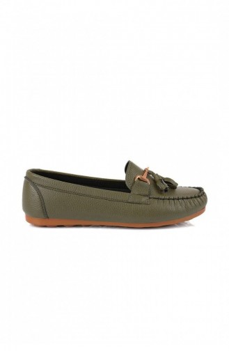 Chaussures de jour Khaki 1120.HAKIYESIL