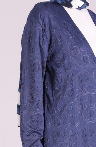 Navy Blue Vest 8104-01