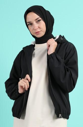 معطف أسود 0505-04