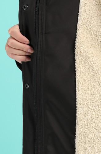 Hooded Pocket Jacket 0506-01 Black 0506-01