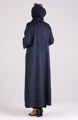 Abayas Bleu Marine 0423-02