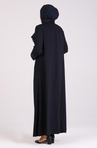 Abayas Bleu Marine 0001-04