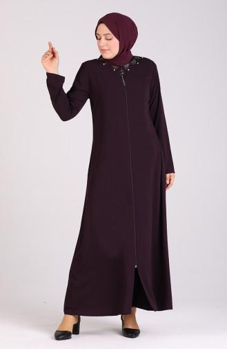 Purple Abaya 0099-03