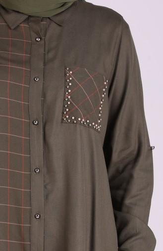قميص كاكي 20507-01
